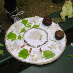 """Mandala """"marronnier"""" réalisé avec les accueils de loisirs périscolaires de la Ville de Dijon"""