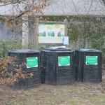 La placette de compostage partagé de la résidence la Capitainerie