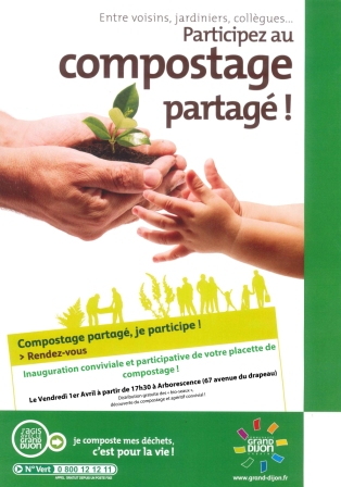 inauguration placette compostage