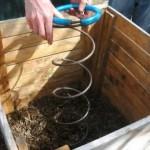 Brassage d'un compost